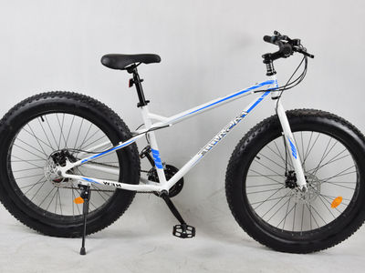 Fatbike 26'' valkoinen